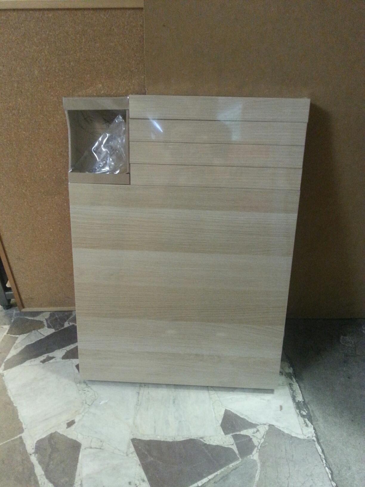 Lack Stolik Dąb Bejcowany Na Biało Biały Ikea