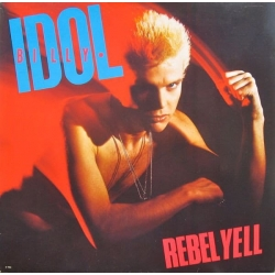 IDOL BILLY,REBEL YELL (LP)  1983